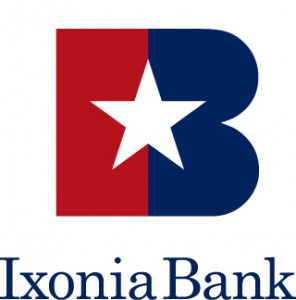 Ixonia Bank Logo Stacked