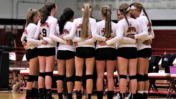 Girls Varsity Volleyball vs North 033