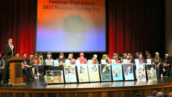 29 StudentAthletes Sign National Letter of Intent This is the – National Letter of Intent