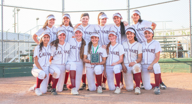 Softball Takes 2nd Place at Ontario Christian Tourney