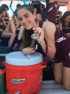 Juliet Garcia - 4th Place 100m