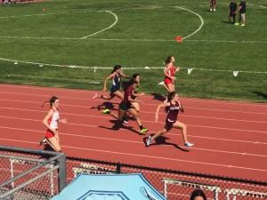 Juliet Garcia - 4th place 100m action