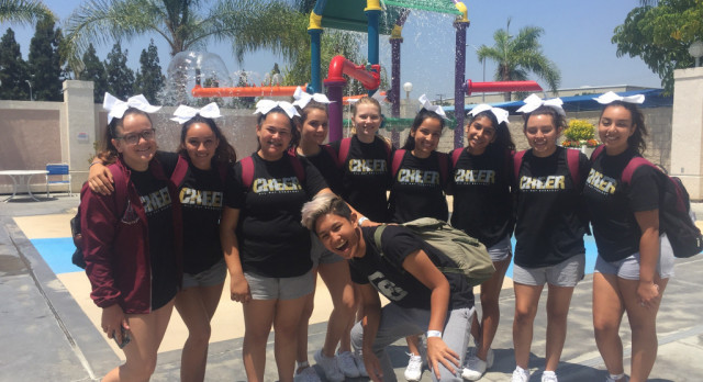 Cheer Team Goes to Camp