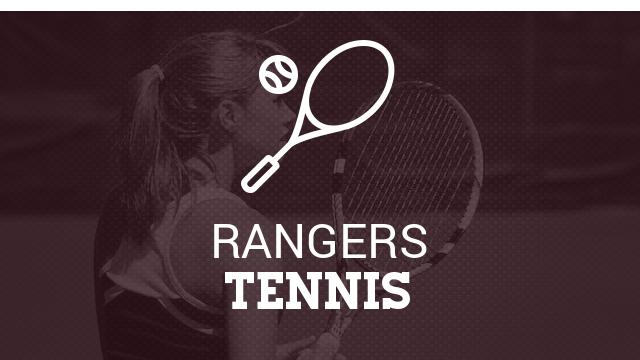 Ranger tennis has two move on in section play