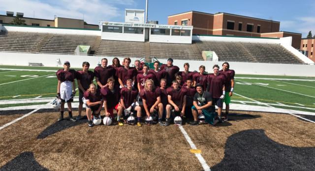 C-I Football Team Attends BSU Football Camp