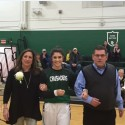 Senior Night for the Girls' basketball Team!