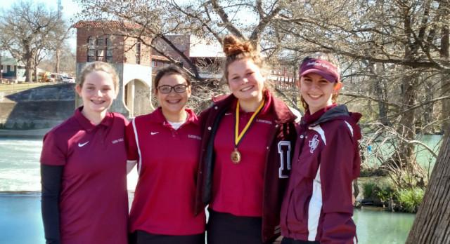 Girl's Golf Team 4th @ Seguin