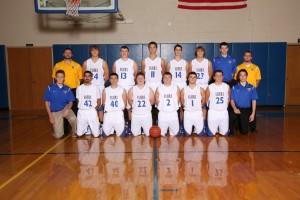 Boys JV Basketball 2016-2017