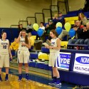 Varsity Girls Victory over Vermillion Senior Night