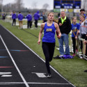 Girls Track Tri-meet vs Vermillion & Old Fort
