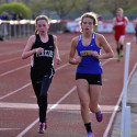 Girls Track @Huron Tri-meet