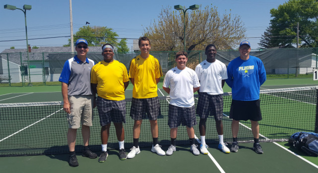 Congrats to our Boys District Qualifiers in Boys Tennis!