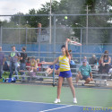 Lady Fliers Beat Perkins 4-1 in Tennis