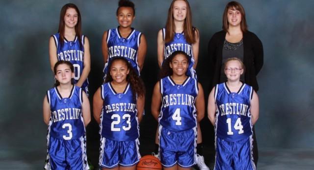 2016-2017 8th Grade Girls Basketball