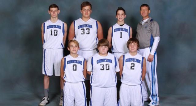 2016-2017 Boys 8th Grade Basketball