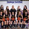 JV Girls Basketball Team Photo 2017