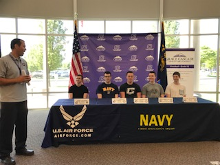 CCHS Military Signing Day