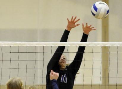 Cascade Christian volleyball sweeps St. Mary's