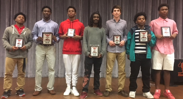 All Region  Honors for Football