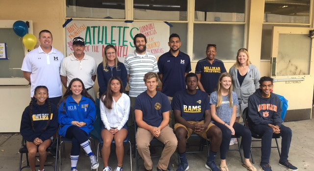 Athletes of the Month – October 2017