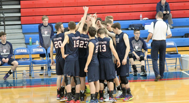 Shaler Area High School Boys Varsity Volleyball beat Butler Area School District 3-1