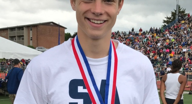 BAGWELL JUMPS TO PIAA TRACK & FIELD MEDAL STAND