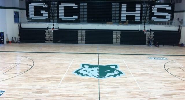 New Basketball Gym