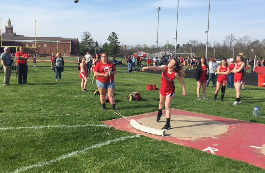 Richmond IS Girls Track Finishes Second at RCS Invite