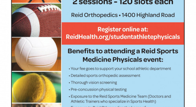 Sports Physicals for $10