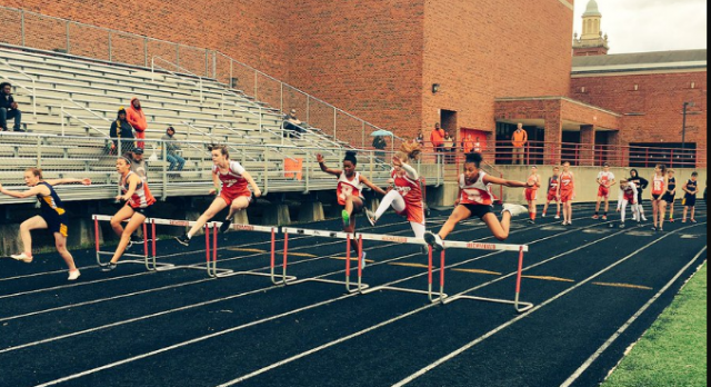 IS Girls Track Finishes Second