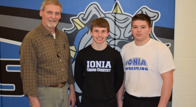 Two Ionia Wrestlers to Compete in Division II State Meet