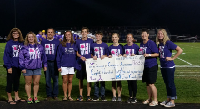 Ionia Cross Country Supports Community Awareness in Big Way