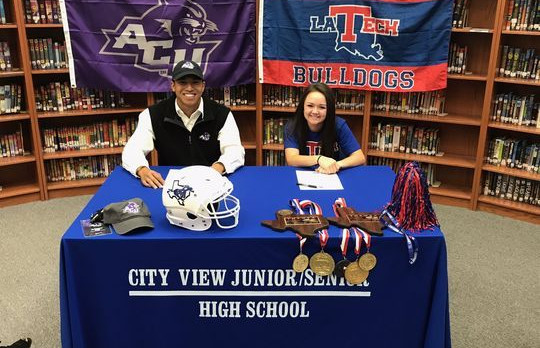 Kayla Wampler to Louisiana Tech and Danny Ho to Abilene Christian University