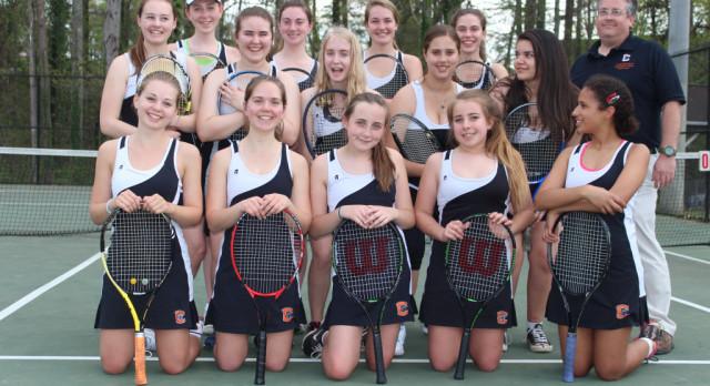 CHS Tennis Starts Strong