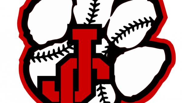 Baseball seams logo