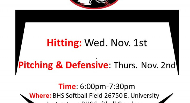 Softball Free Clinic