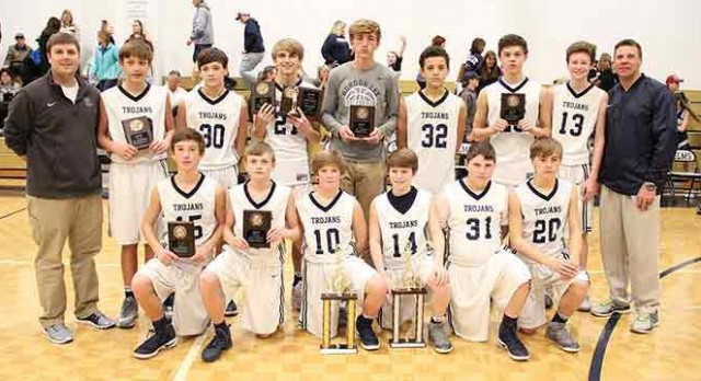 Boys Basketball wins NGAC
