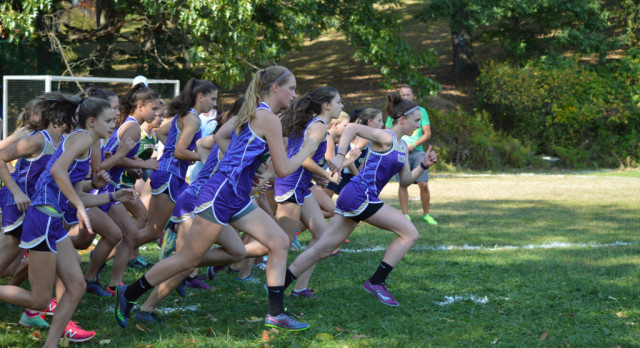 OLSH Girls Varsity Cross Country finishes 1st place