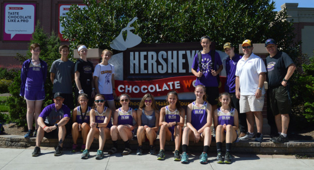 Our Lady Of The Sacred Heart High School Girls Varsity Cross Country finishes 9th place