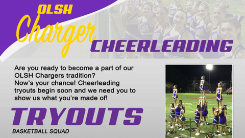 Basketball Cheerleading Try Outs – October 7