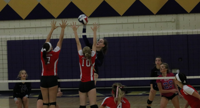 Our Lady Of The Sacred Heart High School Girls Varsity Volleyball beat @ Rochester 3-0