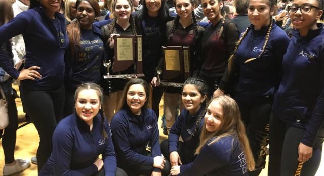 Dance Team Brings Home Trophies!