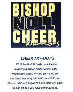 Cheer try outs