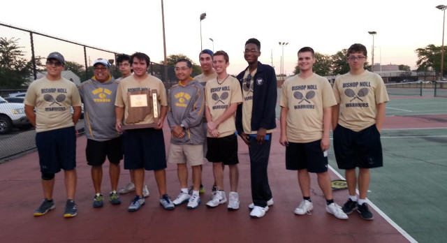 Boys Tennis Aces a Three-Peat