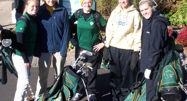 Girls Golf Finishes 3rd in Conference Play