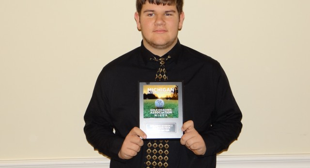 Ryan Bayer Earns All State Honors