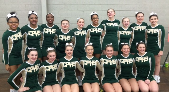 Cheer Finishes 5th in State
