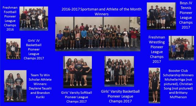 Saxon Athletes Honored At Annual Awards Day