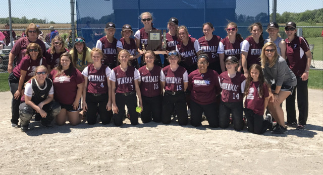 Lady Warriors Win Softball Sectional