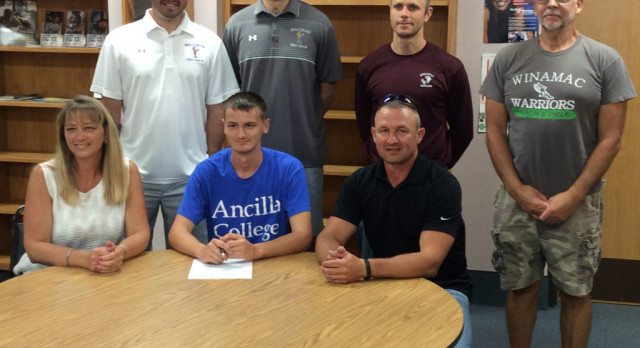 Perry signs with Ancilla College